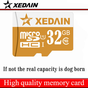 XEDAIN 16GB 32GB 64GB Class 10 32G Class10 Tf Card Micro SD Cards Memory Cards microsd mini cell phone tablet adapter High speed