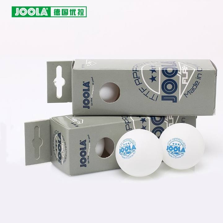 JOOLA FLASH 3-Star Table Tennis Balls Seamless 40+ New Material Poly Plastic Ping Pong Balls ITTF Approved
