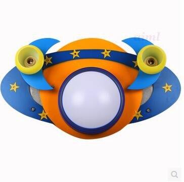 LED Remote control cartoon creative children room boy bedroom light 110v-240v @-9