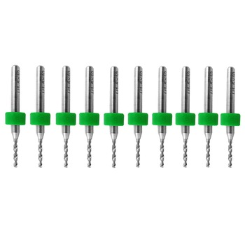 цена на 10Pcs PCB Print Circuit Board Carbide Micro Drill Bits Tool 0.4 Mm New VE622 P0.11