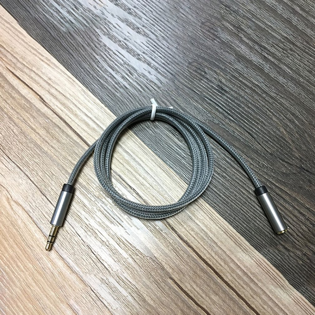 audio cable male to female extension cable speaker connector adapter for smartphones. Black Bedroom Furniture Sets. Home Design Ideas