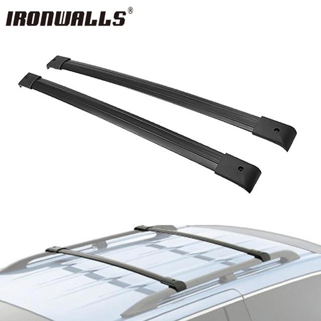 Ironwalls 2X coche techo barras transversales de techo caja ...