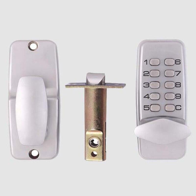 La porte d'entrée de mot de passe verrouille la sécurité sans clé en alliage de Zinc imperméable avec le clavier numérique de Code de machines pour la famille de dortoir d'école