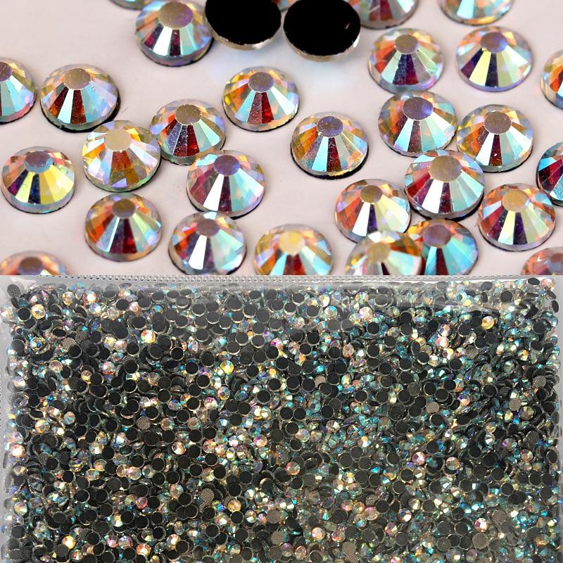 ee9fafa3b1 FLASH SALE] Glass Crystal AB Wholesale Crystal AB DMC Hot Fix ...