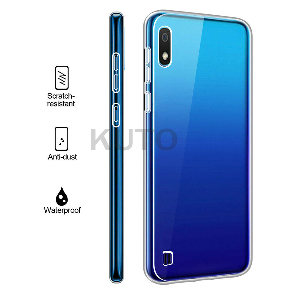 360 Silicone Phone Case For Samsung Note 10 9 8 S10 5G Lite Plus Shockproof TPU Full Cover For Samsung Galaxy A20e A50 A40 Case