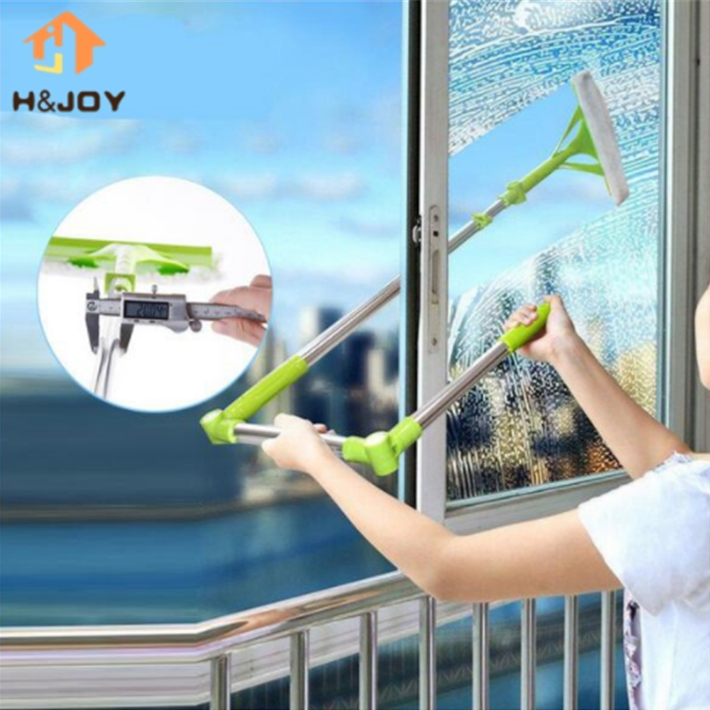 Multi Telescopic High-rise Windows Cleaning Glass Sponge Mop Washing Windows Dust Brush Cleaner Windows Hobot