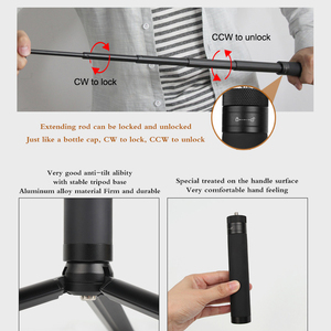 Image 5 - אוסמו כיס כף יד selfie מקל מוט + חצובה לייצב בעל לdji אוסמו כיס מצלמה gimbal אבזרים