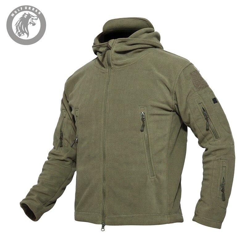 Hiver hommes tactique TAD doux coquille requin peau manteaux veste coupe-vent veste en plein air Camping chasse manteau armée tissu grande taille