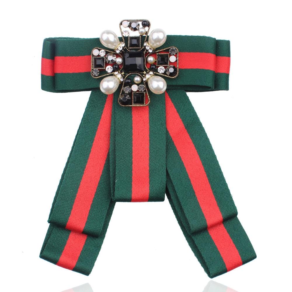 Striped Cool Big Large Neck Bow Tie Boho Fancy Pearl Crystal Cloth Fabric Bowties Women Dress Party Fantasia Adulto Homem