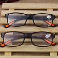 2016 Super-soft Ultra-light Plastic Women Reading Glasses Men Presbyopic Glasses Gafas De Lectura Oculos De Grau Black GiftYJ006