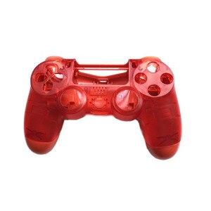 Image 5 - PS4 PRO obudowa obudowa przednia wymiana dla konsoli Playstation 4 Dualshock 4 Pro 4.0 V2 Gen 2th kontroler JDM 040 JDS 030