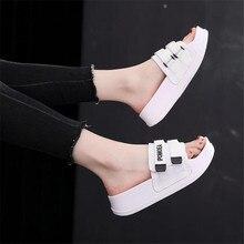 купить ARSMUNDI Slippers Women Summer Sandals Slipper Outdoor Flip-flops High heel platform Beach Shoes Female Fashion Shoes M464 по цене 894.25 рублей