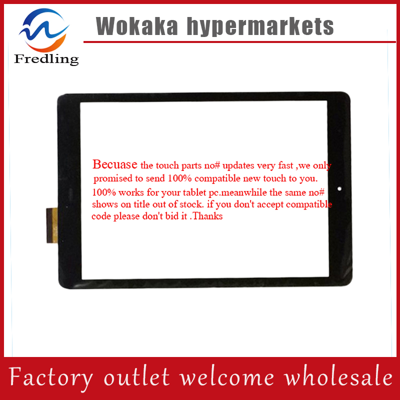 Original black Touch panel 9.7 inch WOLDER MITAB ATLANTA Tablet touch screen digitizer Sensor Glass Replacement Free Shipping new touch screen 10 1inch for wolder amsterdam vermont touch panel digitizer glass sensor replacement free shipping