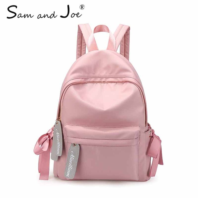 2019 New Fashion PU Leather Backpack Women Travel Bags Preppy Style Backpack  Girls School Bags Zipper Oxford Cloth Backpack 59d1c88fdb7b6