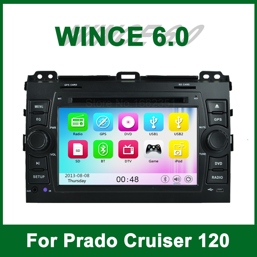font b Car b font font b DVD b font Player GPS for Toyota Prado