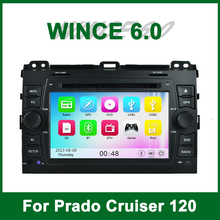 Car DVD Player GPS for Toyota Prado Cruiser 120 2003 2004 2005 2006 2007 2008 2009 with Radio Bluetooth support wifi 3G Ipod