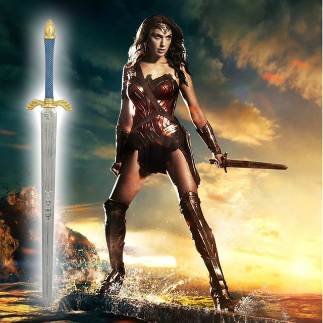 Movie Batman V SupermanDawn Of Justice Wonder Woman Sword None