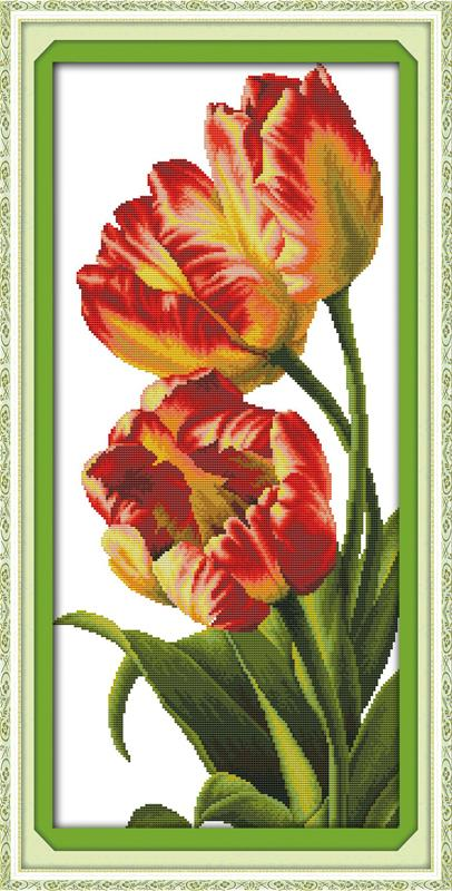 Вышивка цветы китай