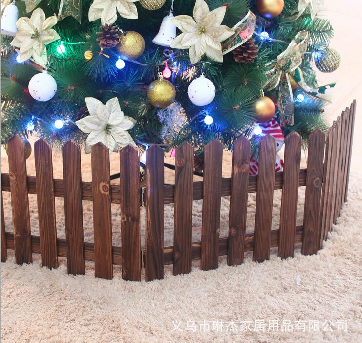 Us 29 6 Christmas Tree Fence Is 1 6 M 30 Cm Long Carbide Wood Fence In Christmas From Home Garden On Aliexpress Com Alibaba Group