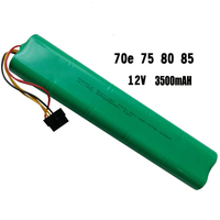 Battery 12V Ni Mh Rechargeable 4500mah Nimh Battery Pack Intelligent Sweeping Robot For Botvac 70e 75