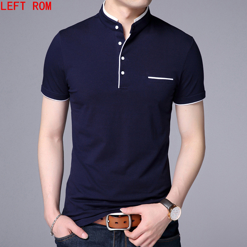 Hohe Qualität Männer Polo Shirt Herren kurzarm Solide Polo Shirts Camisa Polos Masculina 2018 Beiläufige baumwolle Plus größe S-3XL Tops