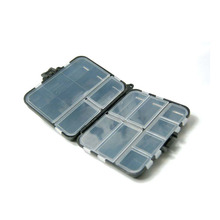 Good high quality Plastic Fishing Sort out Packing containers Hook Compartments Storage Case Outside Fishing Swivels Lure Bait Storing Software