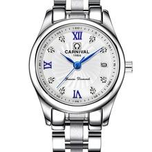 카니발 명품 브랜드 시계 여성 일본 석영 시계 스위스 여성 시계 남성 방수 밀리터리 rewj hombre C8827L - 1