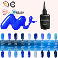 Blue Place Esmalte Permanente Gel Ezflow Lucky Nail Changes Color Blinkingel Paint Manicure 80ml Soak Off Azure Color Gel