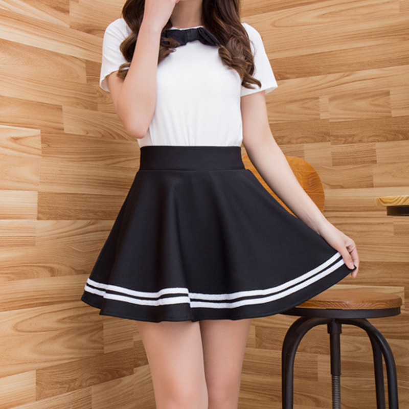 Winter and Summer style Brand women skirt elastic faldas ladies midi skirts Sexy Girl mini short skirts saia feminina apparel
