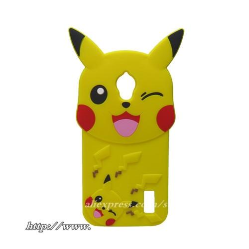 Silicone Cartoon case 3D Fairy pocket Yellow for Huawei Y625 Silicone Back Cover Case For Huawei Ascend Y635