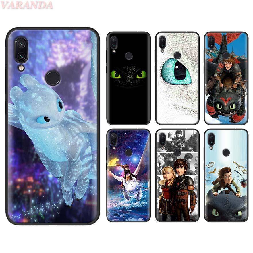 Tandeloze Train Your Dragon Zachte Case Voor Redmi Note 8T 8 7S 7 6 K30 5G K20 pro 8A 7A 6A Siliconen Case
