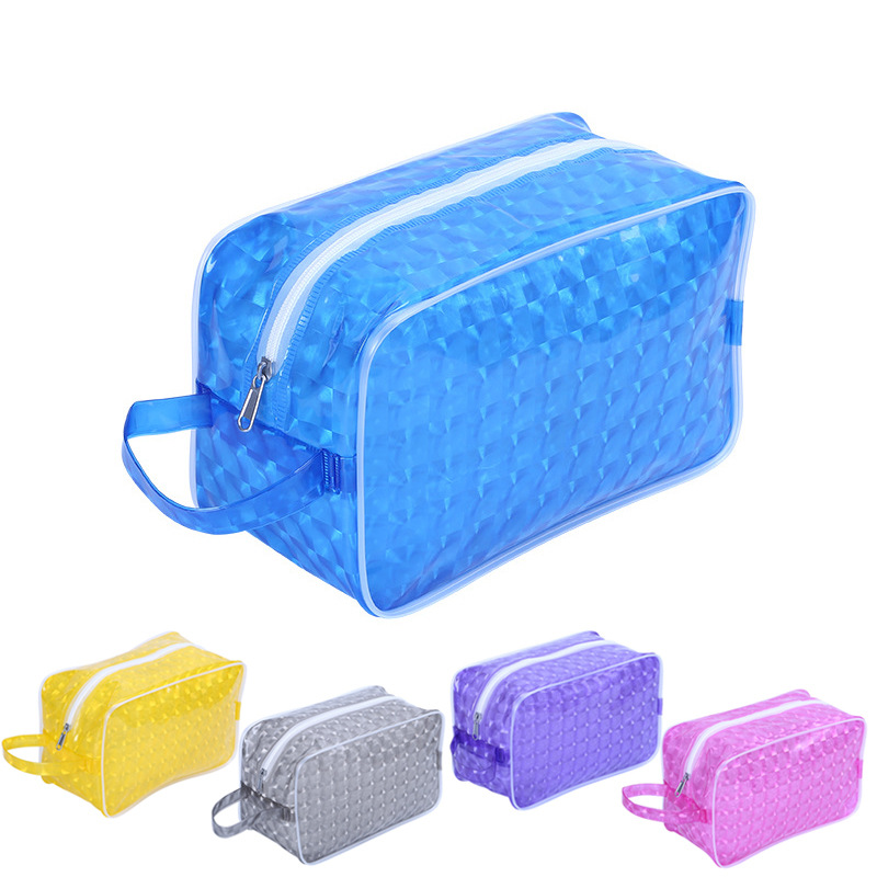 Pool Beach Bags Swimming Gym Bag Waterproof Handbags Transparent EVA Jelly Organizer Sack Swimsuit Wash Gargle Storage XA483WA