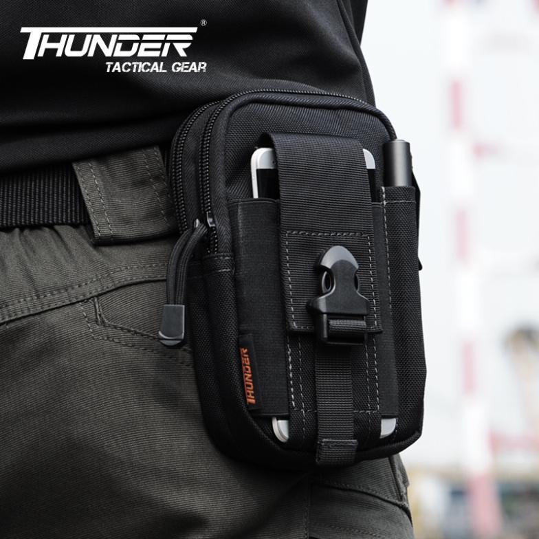 D30 Tactical Molle Waist Bags Men's Outdoor Sport Casual Pack Purse Mobile Phone Case SAMSUNG Note 2 3 1000D nylon - APPLETREE FASHION DESIGN CO.,LTD. store
