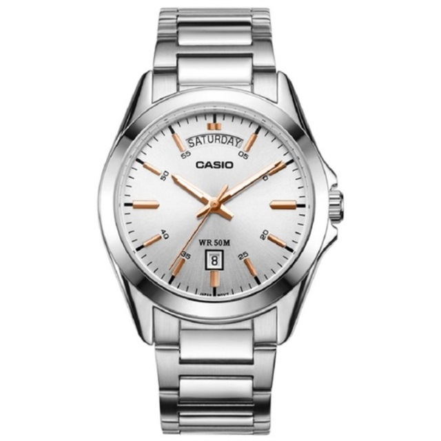 1acfd8f7c0d Casio watch Top Luxury Brands Wristwatch Men s Watches Silvery Casual Man  Watch Retro Original Relogio Masculino