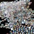 1000 pcs 3mm DIY Nail Art Decoração Dica & Telefone ss10 Strass Resina Diamante Flat Projeto do Fundo de Cristal Transparente J02