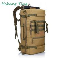 50L Men Women Mountaineering Backpack Density Nylon Large Capacity Waterproof Movement Rucksack Fashion Computur Backpacks