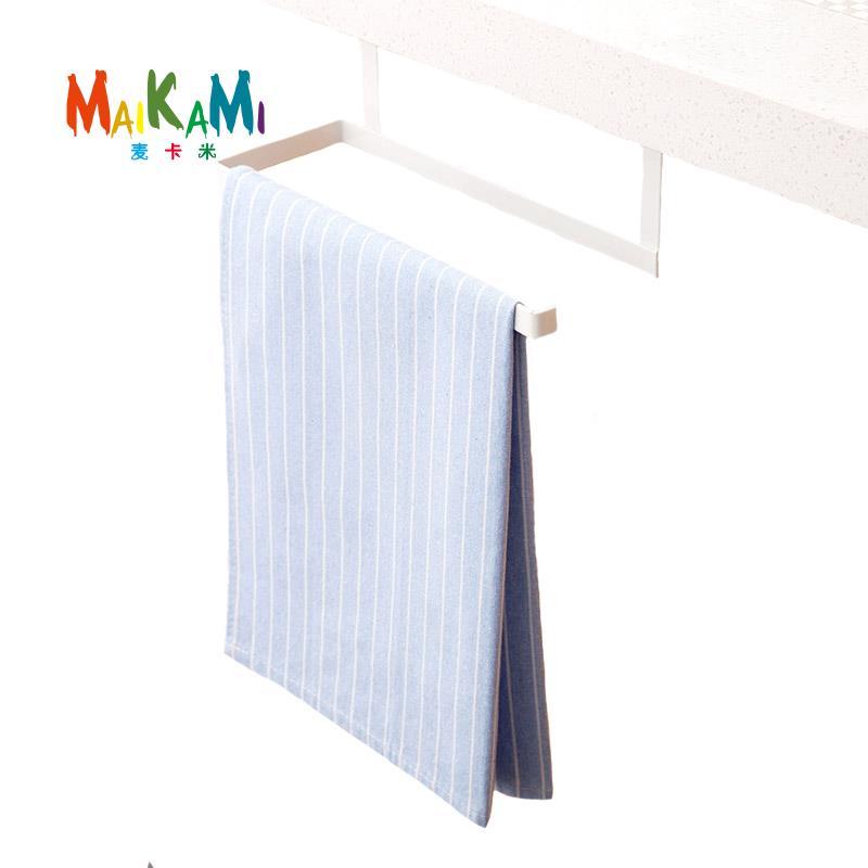 MAIKAMI Keuken Badkamer Geen behoefte aan Punch Handdoekhouders Papier Handdoekhouders Badkamer Handdoek Haak Rekken
