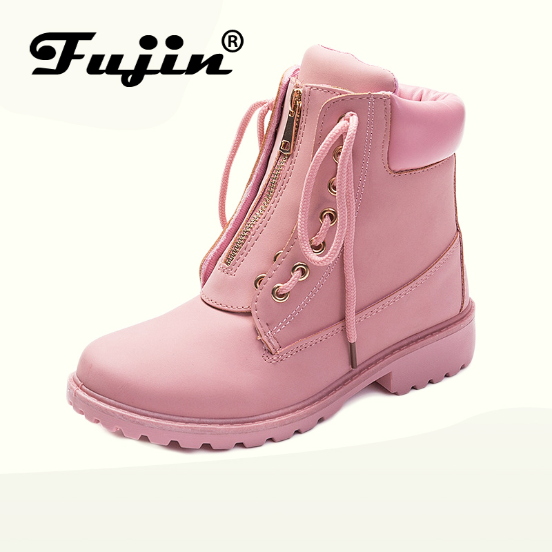 2018 new arrival women winter boots Booties boots Round toe shoes warm snow boots fashion platform shoes women ankle boots platform bowkont flocking snow boots