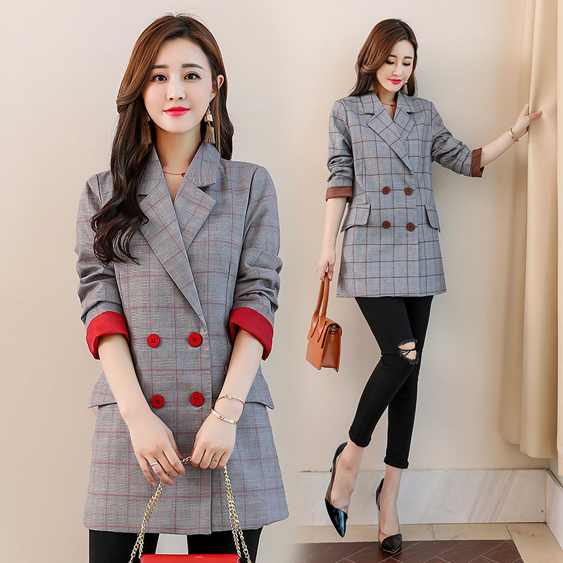 Couleur Printemps Vêtements Taille Manteaux Femmes Femme 2 Harajuku Tops Manteau La Vestes 2019 Solide Streetwear Plus Et 1 Coton Hiver Cfwzwqx65
