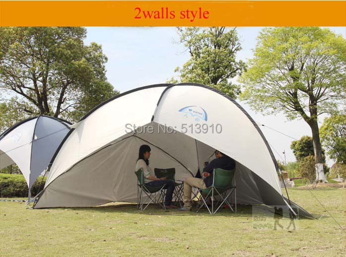 Tarp tent/Top quality marquee account/large flysheet 4.1m suitable for family outdoor traveling-in Tents from Sports u0026 Entertainment on Aliexpress.com ... & 2Walls!Tarp tent/Top quality marquee account/large flysheet 4.1m ...