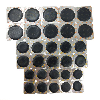 30Pcs/Set Universal Round Shape Tyre Repair Cold Patch Tire Rubber Tool For Car Motorcycle Multifunctional patch