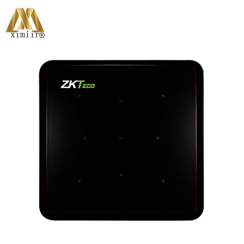 Qualité supérieure 10 M Longue Distance UHF Carte de Contrôle D'accès ZK UT400/UF2000 Livraison Logiciel Porte de Contrôle D'accès Lecteur