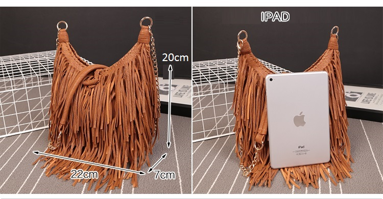 Cheap tassel bag