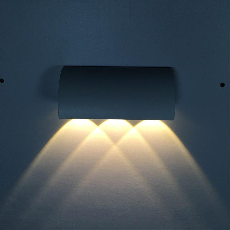 livre para baixo iluminação lâmpadas de parede
