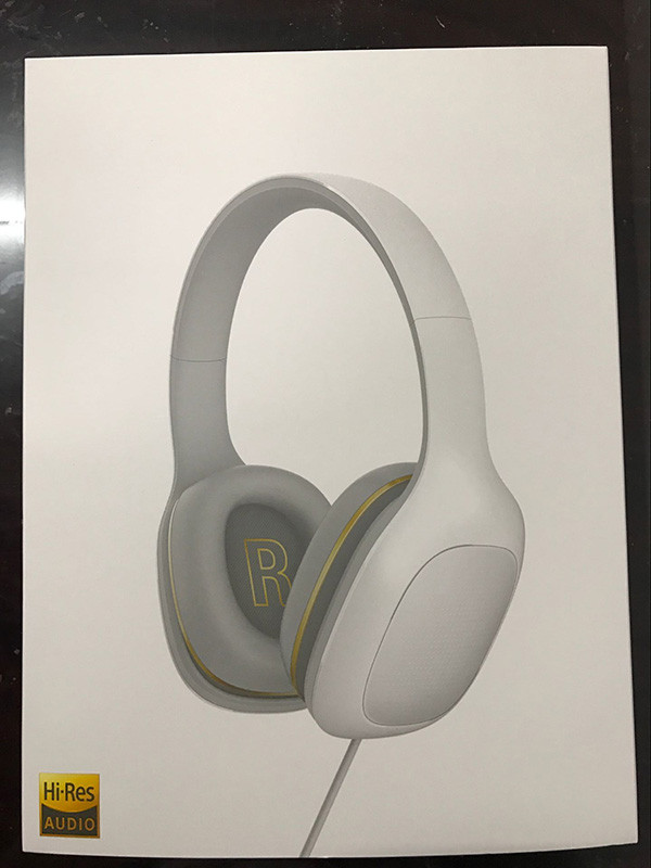 Original Xiaomi Hi-Res Audio Stereo Headphone with Mic  3.5mm Music Earphone Beryllium Diaphragm Microphone Luxury