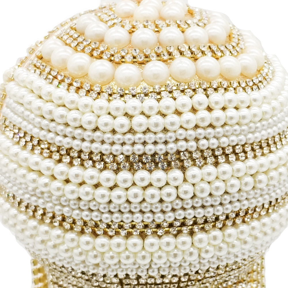 Bolsa Clutch Pearl