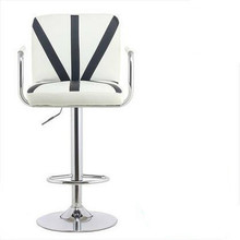 Promotion simple fashion bar chair lifting stoolchair soft comfortable height adjustable free shipping