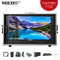 SEETEC 4K238-9HSD-CO 23.8 inch Carry on Broadcast Director Monitor 4K Ultra HD 3840x2160 LCD IPS Screen with HDMI 3G SDI DVI VGA