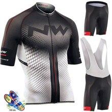 NW, летний комплект из дышащей Джерси для велоспорта, командный гоночный спортивный велосипед, Мужская одежда для велоспорта, короткая велосипедная майка Northwave