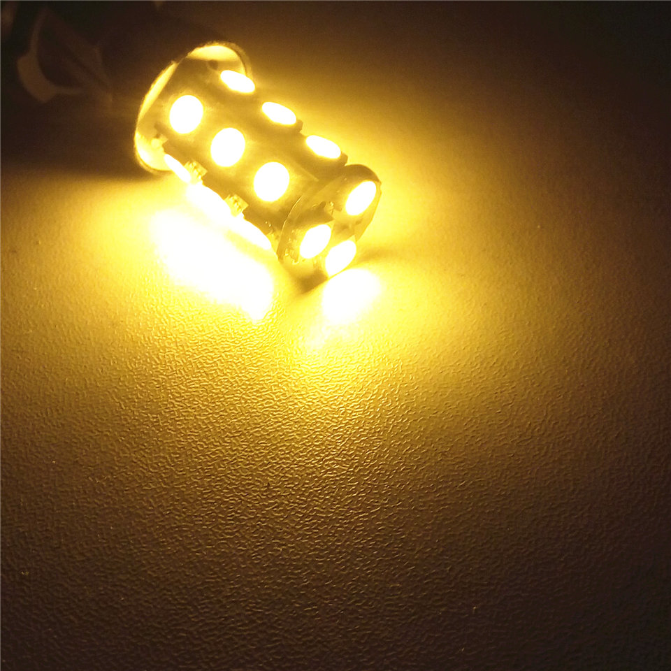 12V LED Car Bulb P21W S25 / 1156 BA15s Ângulo de 150 graus Single - Faróis do carro - Foto 3